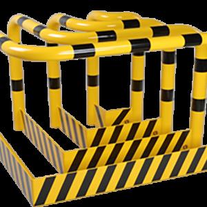branik za kutove sa zaštitom od podlijetanja