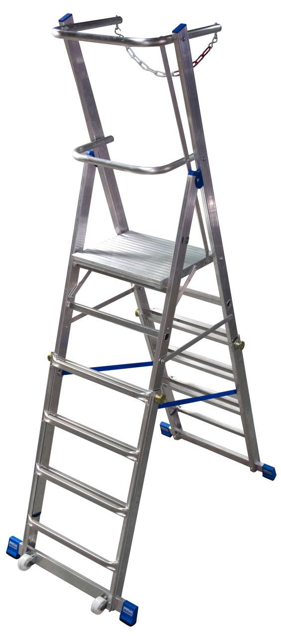 Teleskopske ljestve s platformom