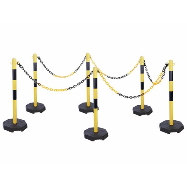 Kola s lančanim stupovima