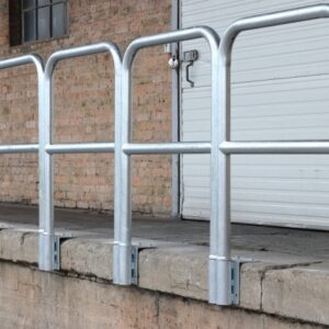 """zaštitna ograda za utovarne rampe """" početni komplet"""""""